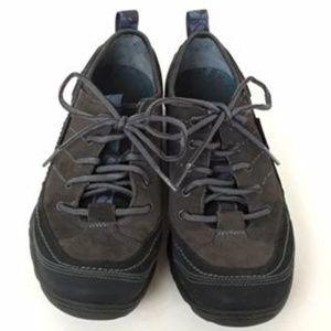 Merrell EUC Walking Shoes Mimosa Black & Gray Sz 9